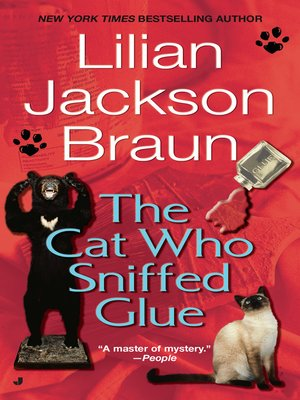 cover image of The Cat Who Sniffed Glue