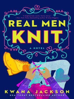 cover image of Real Men Knit