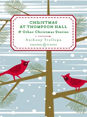cover image of Christmas at Thompson Hall--And Other Christmas Stories
