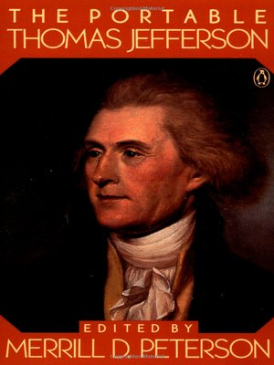 cover image of The Portable Thomas Jefferson