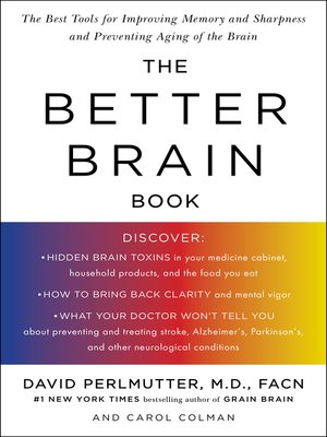cover image of The Better Brain Book
