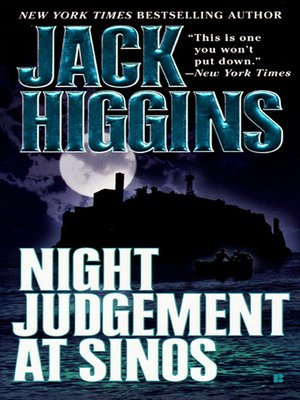 cover image of Night Judgement at Sinos