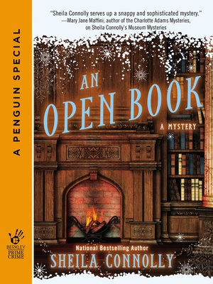 cover image of An Open Book--A Mystery