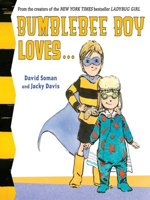 cover image of Bumblebee Boy Loves...