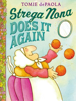 cover image of Strega Nona Does It Again