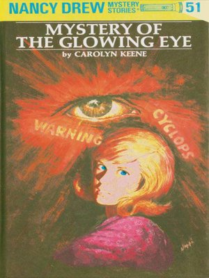 cover image of Mystery of the Glowing Eye