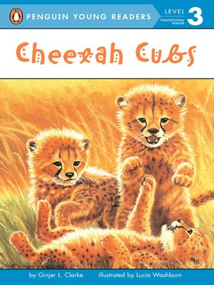 cover image of Cheetah Cubs