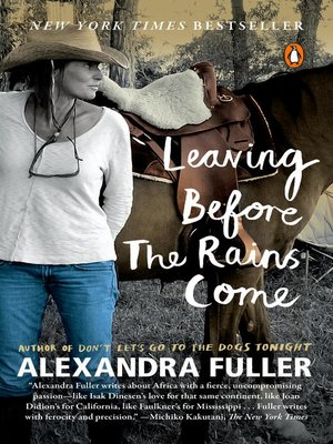 cover image of Leaving Before the Rains Come