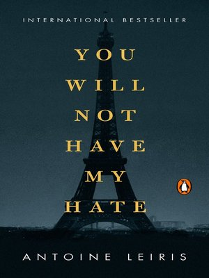 cover image of You Will Not Have My Hate