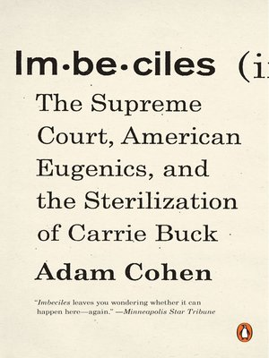 cover image of Imbeciles