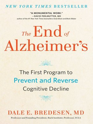 cover image of The End of Alzheimer's