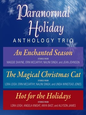 cover image of Paranormal Holiday Anthology Trio
