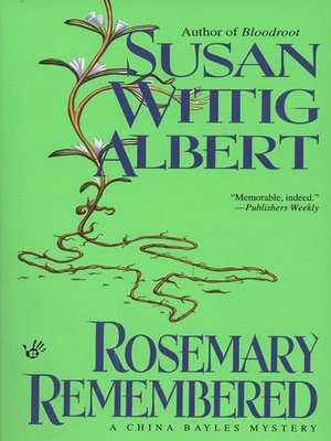cover image of Rosemary Remembered