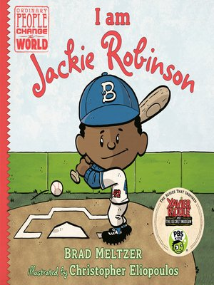 cover image of I am Jackie Robinson
