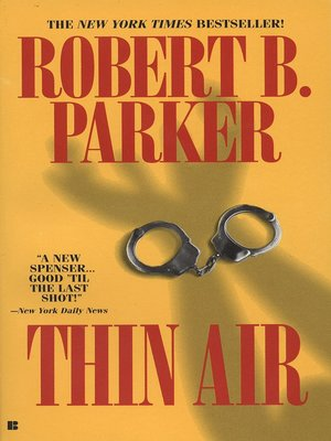 cover image of Thin Air