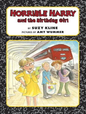 cover image of Horrible Harry and the Birthday Girl