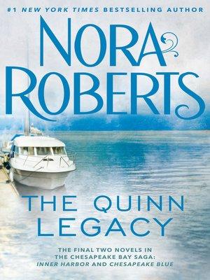 cover image of The Quinn Legacy: Inner Harbor ; Chesapeake Blue