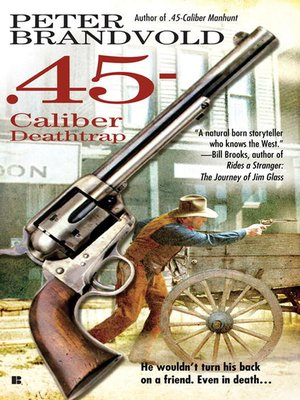 cover image of .45-Caliber Deathtrap