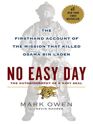 cover image of No Easy Day