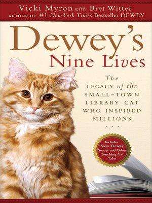 cover image of Dewey's Nine Lives