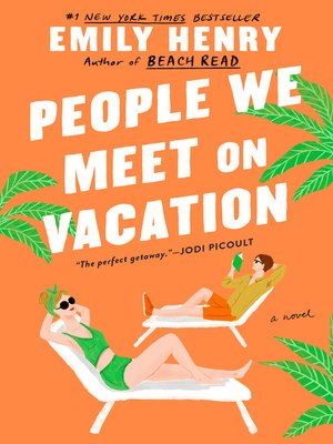 cover image of People We Meet on Vacation