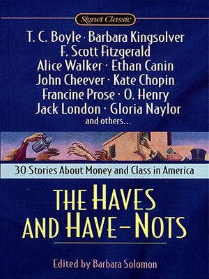 cover image of The Haves and Have-Nots