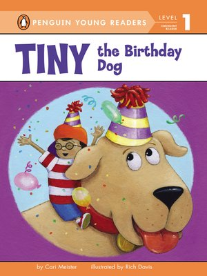 cover image of Tiny the Birthday Dog
