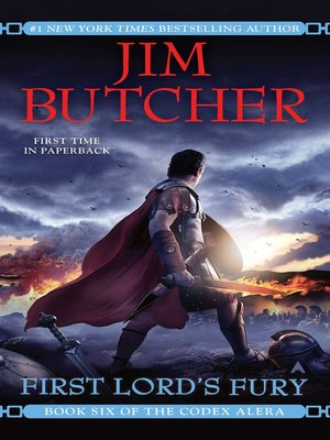 cover image of First Lord's Fury