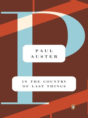cover image of In the Country of Last Things