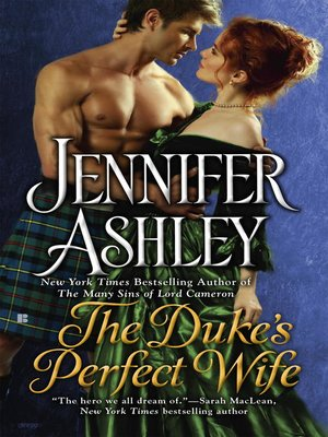 cover image of The Duke's Perfect Wife