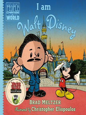 cover image of I am Walt Disney