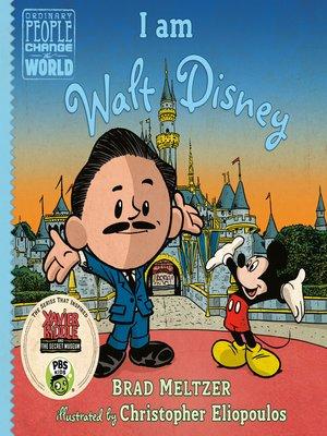 cover image of I am Walt Disney