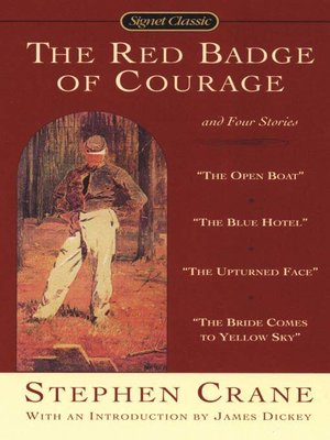cover image of The Red Badge of Courage And Four Stories