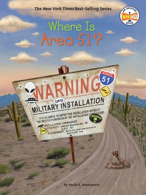 cover image of Where Is Area 51?