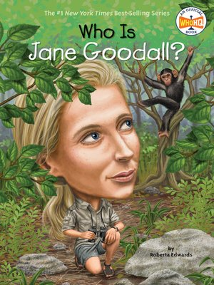 cover image of Who Is Jane Goodall?