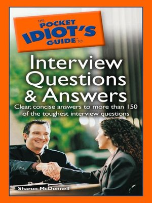 cover image of The Pocket Idiot's Guide to Interview Questions and Answers