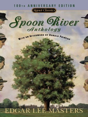 cover image of Spoon River Anthology