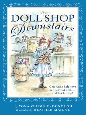 cover image of The Doll Shop Downstairs