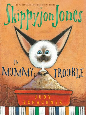 cover image of Skippyjon Jones in Mummy Trouble
