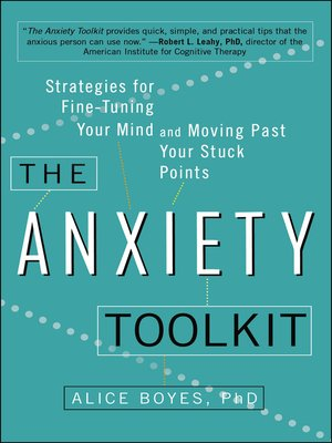 cover image of The Anxiety Toolkit
