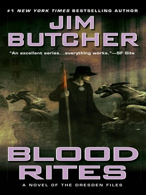 Title details for Blood Rites by Jim Butcher