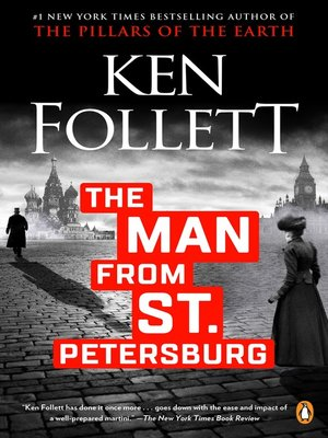 cover image of The Man From St. Petersburg