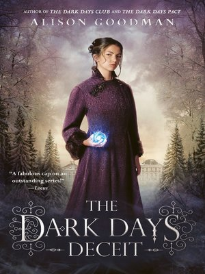 cover image of The Dark Days Deceit