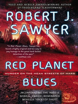 cover image of Red Planet Blues