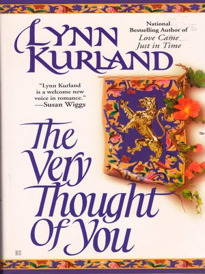 cover image of The Very Thought of You