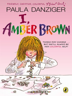 cover image of I, Amber Brown