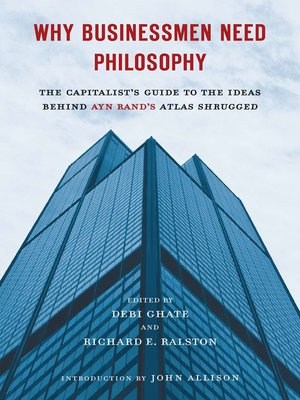 cover image of Why Businessmen Need Philosophy