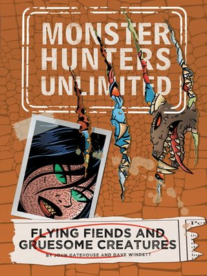 cover image of Flying Fiends and Gruesome Creatures #4