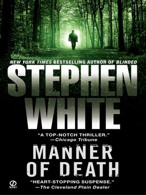 cover image of Manner of Death