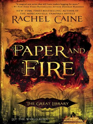 cover image of Paper and Fire
